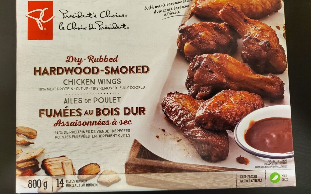 Palatable President's Choice Dry-Rubbed and Hardwood-Smoked!